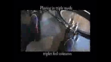 Drums - Dualist Triple Pedal