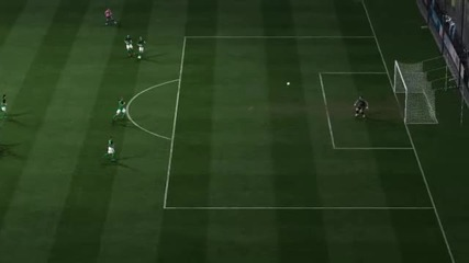 Amazing Goal by Saha-fifa 11 !!