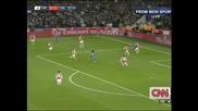 """""""Челси"""" отстрани """"Арсенал"""" за Купата на Лигата след 2:0"""