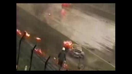 Жестока Катастрофа На Ферари И Porsche