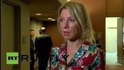 ОН: Захарова потуши слуховете, че руските изтребители са убили цивилни сирийци