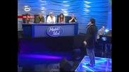 Music Idol 2 - Иван Ангелов 17.03.08 Изпълнява Песента си Сам