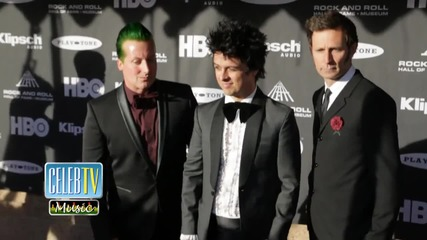 Green Day Fans Get Special Surprise at Rock and Rock Hall of Fame Induction Ceremony