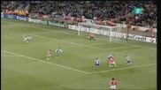 Арсенал се класира за 1/4 финалите след разгром с 5:0 над Порто - общ резултат (6:2)