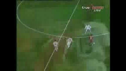 Liverpool - Besiktas 8 - 0 Gerrard