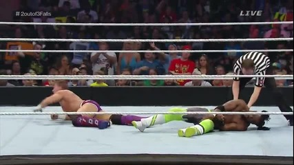 Wwe Payback 2015 - The New Day срещу Tyson Kidd & Cesaro
