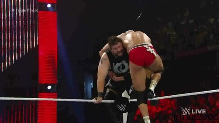 Randy Orton vs Cesaro v Kevin Owens: Wwe Първична сила 10.08.2015