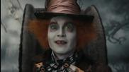 Алиса в Страната на чудесата 2010 - целия филм Бг субтитри
