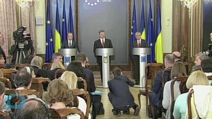 Wary EU Hosts Hopeful Ex-Soviets, Under Russian Glare