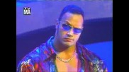 Wwe - The Rock Theme - 1998 1999