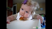 много лудо дете спи докато яде