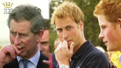 Уилям и Хари пуснали воняща бомба в офиса на принц Чарлз