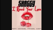 Shaggy ft. Mohombi, Faydee & Costi - I Need Your Love ( Аудио )