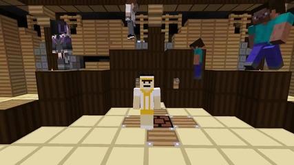 Minecraft: Trouble In Mineville (round 1) troll :d