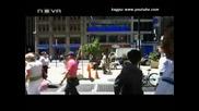 Полицай глобява колоездач в Ню Йорк