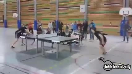 Необичаен тенис на маса
