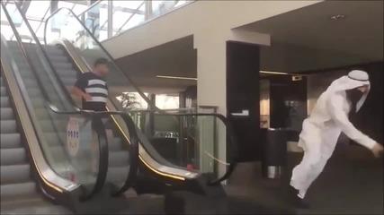 Бомба в чанта - Шега