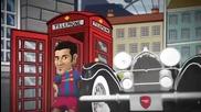 Fc Barcelona - Els Toons, a punt per assaltar Londres