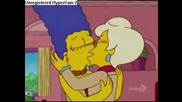 Marge Simpson Beso Lesbiana