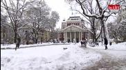 Зимна приказка в София