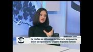 """Мариана Попова в студиото на ТВ """"Европа"""""""