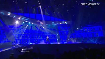 Литва / Donny Montell - Love Is Blind / Live - Евровизия 2012