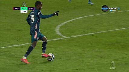 Мартинели удвои актива за Арсенал срещу Шефийлд Ю