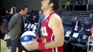 Zachary Levi at The 2011 Nba All-star Celebrity Game#1