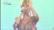 Галена - Тихо ми пази - Live Годишни музикални награди, на телевизия Планета за 2010 23.02.2011