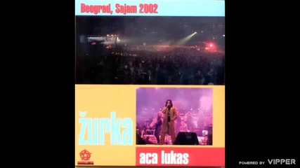 Aca Lukas - Intro (Cocaine) - live - 2002 Zurka Sajam - Music Star Production