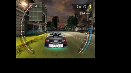 The Best Game Need For Speed underground 2