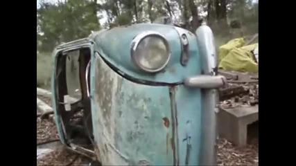 изоставени коли и камиони