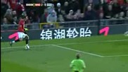 Berbatov & Ronaldo - Awesome Goal,  Man Utd vs Westham