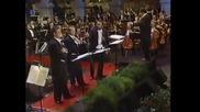Тримата тенори - Доминго, Карерас и Павароти - O Sole Mio 1994