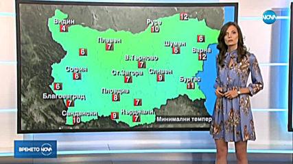 Прогноза за времето (22.09.2019 - централна емисия)