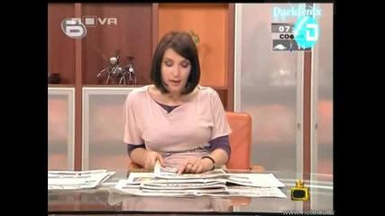 Ани Цолова - Президентът На Арменците Господари на ефира 03.07.08