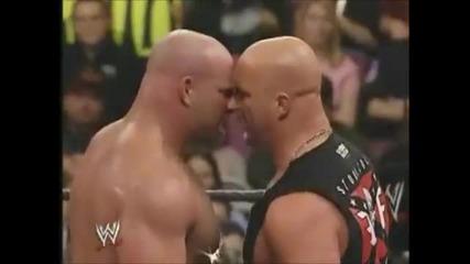 Goldberg vs Brock Lesnar - Wrestlemania 20