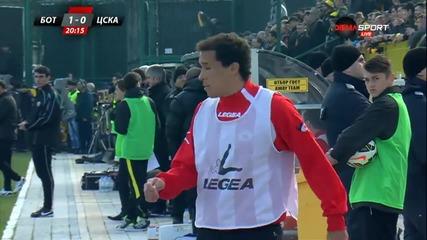 Ботев Пловдив - ЦСКА - Първо полувреме (14.03.2015г.)