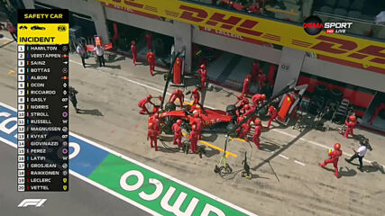 Кошмар за Ферари на старта на Гран при на Щирия