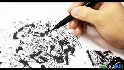 рисунка с молив - това трябва да се види!