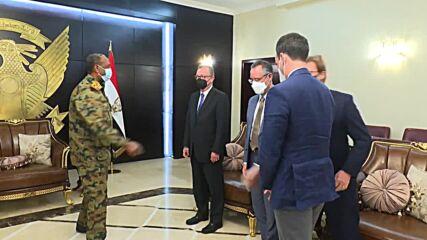 Sudan: Sovereign Council head Al-Burhan meets US Special Envoy to discuss ongoing crisis