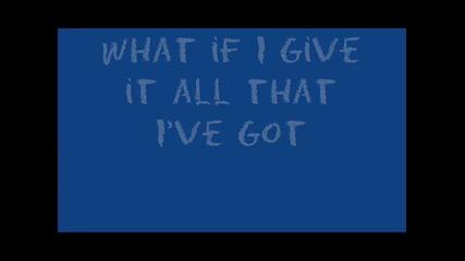 What If By Plain White T's Lyrics