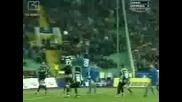 Левски - Артмедия - 2:0 - Голове