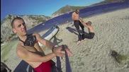 Freediving в Порто Куфо, Гърция
