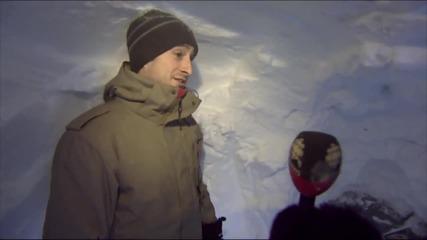 Мъж в Канада копае тунел до колата си в продължение на 6 часа