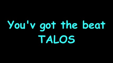 Talos - You'v got the beat (dieaussenseiter)