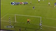 16.01.10 Втория гол в мачаeverton - Man City - 2 - 0(l.saha)