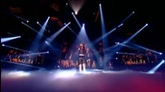Cher Lloyd sings Love The Way You Lie - The X Factor Live Semi - Final (full Version)
