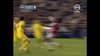 07.04 И З У М И Т Е Л Е Н гол на Емануел Адебайор ! Виляреал - Арсенал 1:1
