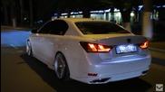Lexus Gs450h F-sport Vossen 20'' Cv7 Concave Wheel Rims